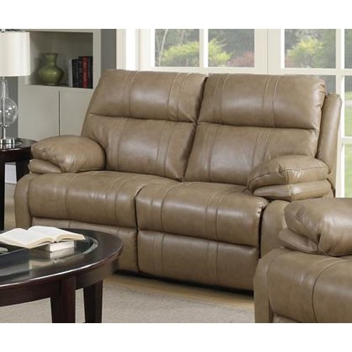 Happy Leather Company 1286 Power Recliner Loveseat