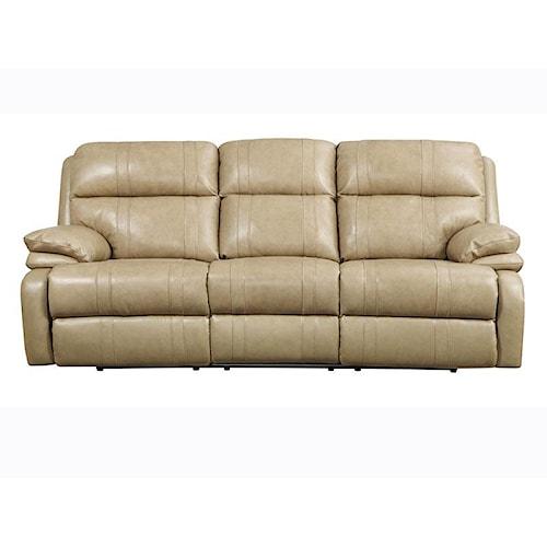 Happy Leather Company 1286 Recliner Sofa