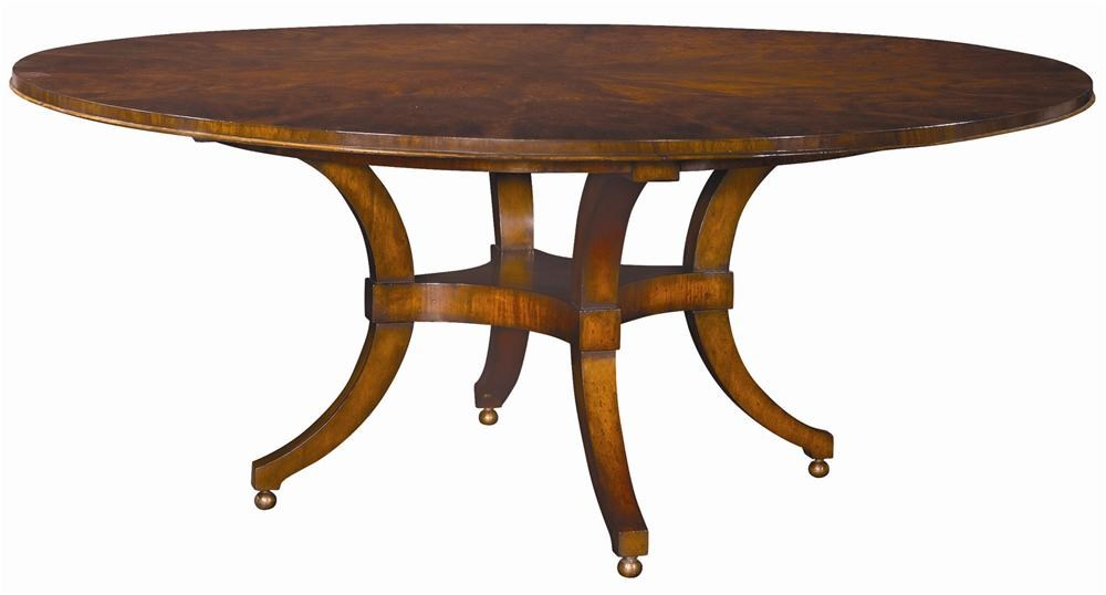 Henredon Acquisitions Round Dining Table with Ball Feet  : products2Fhenredon2Fcolor2Facquisitions3034 20 650 bjpgscalebothampwidth500ampheight500ampfsharpen25ampdown from www.designinteriorsfurniture.com size 500 x 500 jpeg 21kB