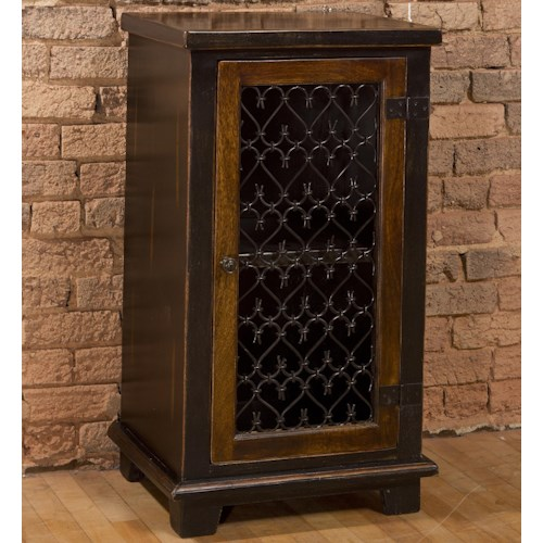 Hillsdale Accents Accent Cabinet with Metal Insert Door
