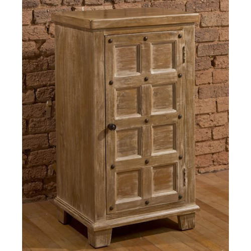 Hillsdale Accents Beige Three Tier Cabinet