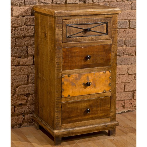 Hillsdale Accents Four Drawer Accent Cabinet