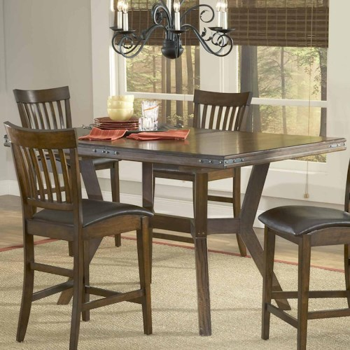 Morris Home Furnishings Arbor Hill Gathering Height Table