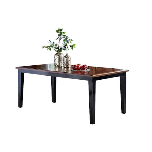 Hillsdale Avalon Dark Cherry Top Table with 14