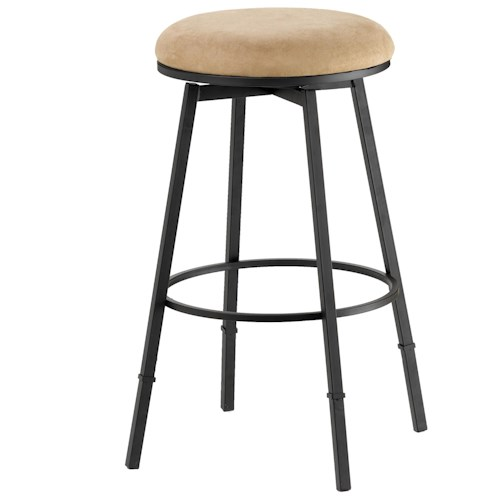 Hillsdale Backless Bar Stools Sanders Adjustable Backless Bar Stool