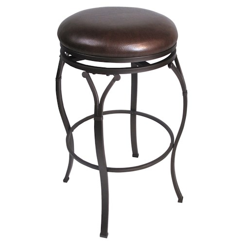 Hillsdale Backless Bar Stools 24.5
