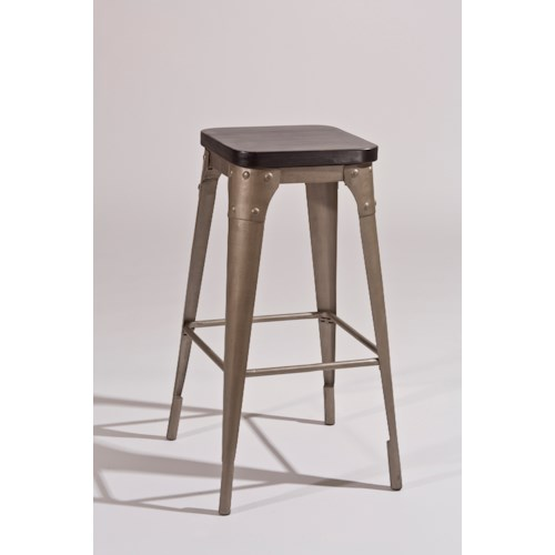 Hillsdale Backless Bar Stools Metal Backless Bar Stool
