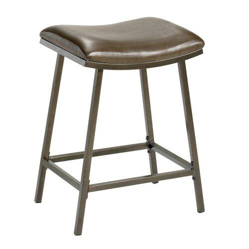 Morris Home Furnishings Backless Bar Stools 24
