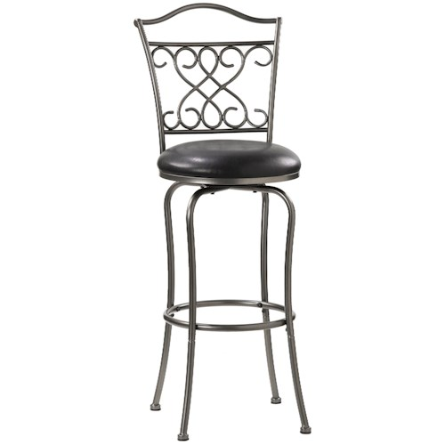 Morris Home Furnishings Metal Stools 30
