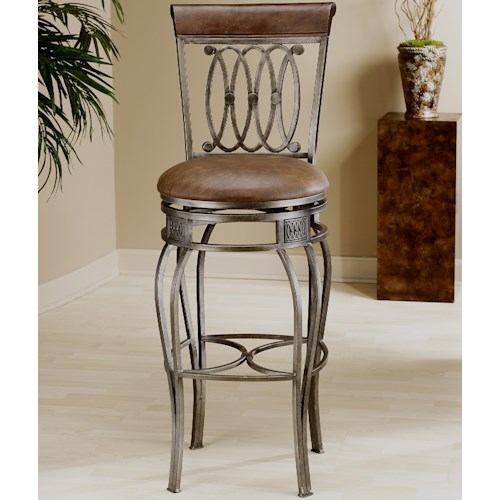 Morris Home Furnishings Metal Stools 32