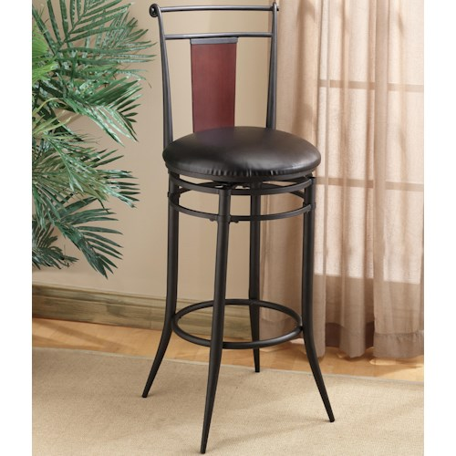 Morris Home Furnishings Metal Stools 24.5