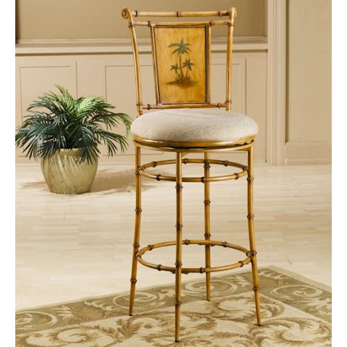 Morris Home Furnishings Metal Stools 24