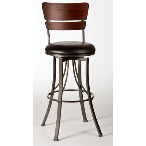 Hillsdale Metal Stools Santa Monica Bar Stool
