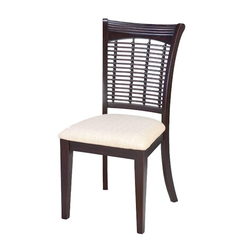 Morris Home Furnishings Bayberry and Glenmary Wicker Dining Side Chair