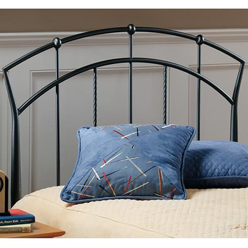 Morris Home Furnishings Metal Beds Vancouver Twin Headboard with Rails