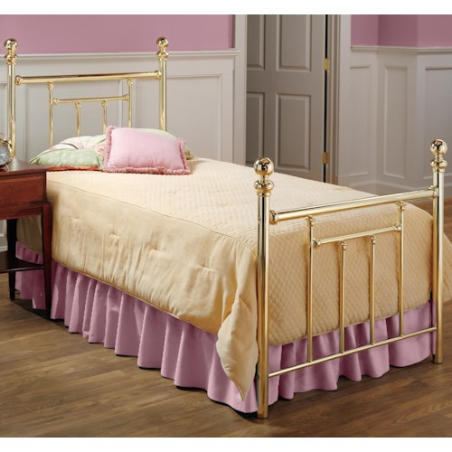 Morris Home Furnishings Metal Beds Twin Chelsea Bed