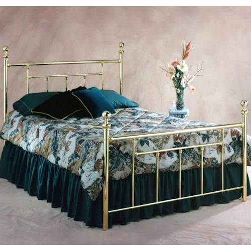 Hillsdale Metal Beds King Chelsea Bed