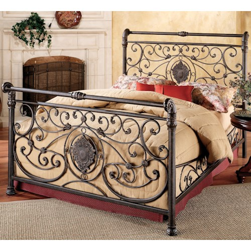 Hillsdale Metal Beds King Mercer Bed