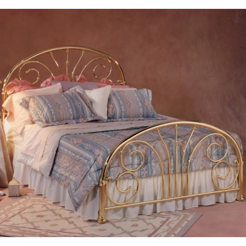 Morris Home Furnishings Metal Beds King Jackson Bed