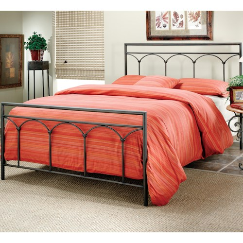 Morris Home Furnishings Metal Beds Full McKenzie Bed