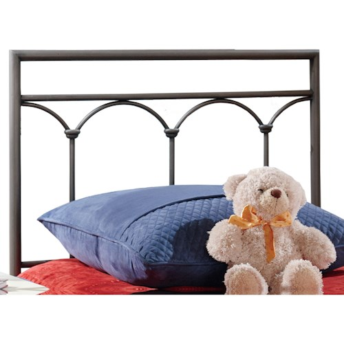 Hillsdale Metal Beds Twin McKenzie Headboard with Rails