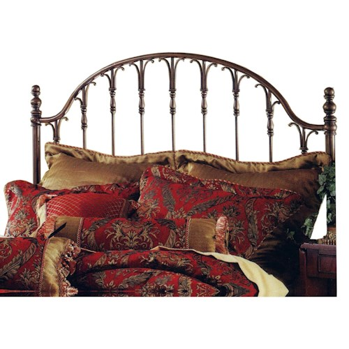 Morris Home Furnishings Metal Beds Tyler Headboard - King - Rails not included