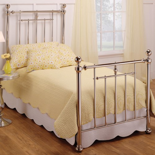 Morris Home Furnishings Metal Beds Twin Holland Bed