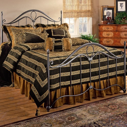 Morris Home Furnishings Metal Beds Full Kendall Bed