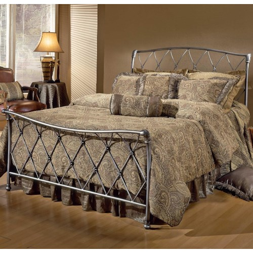 Hillsdale Metal Beds Full Silverton Bed