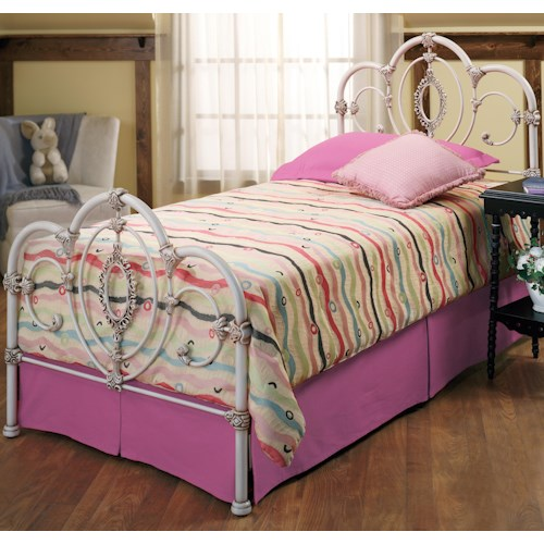 Morris Home Furnishings Metal Beds Twin Victoria Bed