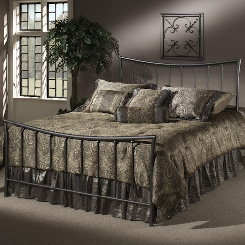 Morris Home Furnishings Metal Beds Full Edgewood Bed