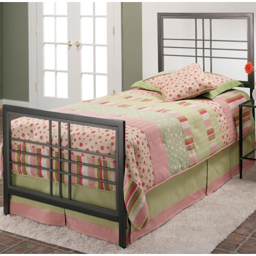 Hillsdale Metal Beds Twin Tiburon Bed
