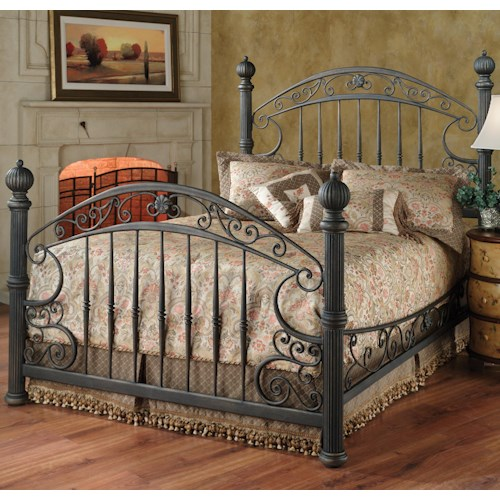 Morris Home Furnishings Metal Beds King Chesapeake Bed