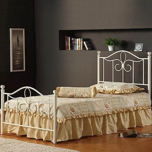 Morris Home Furnishings Metal Beds Full Westfield Bed
