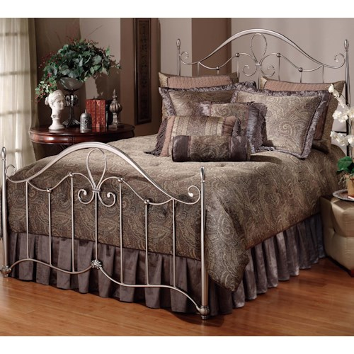Morris Home Furnishings Metal Beds King Doheny Bed