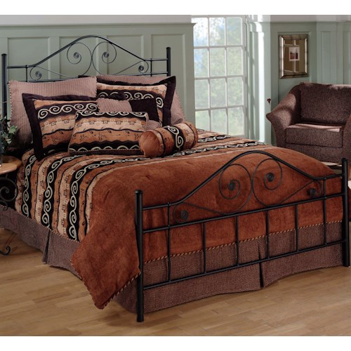 Morris Home Furnishings Metal Beds Full Harrison Bed