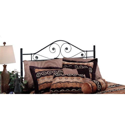 Hillsdale Metal Beds Harrison Metal King Headboard with Rails