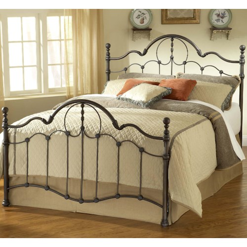 Morris Home Furnishings Metal Beds Full Venetian Bed