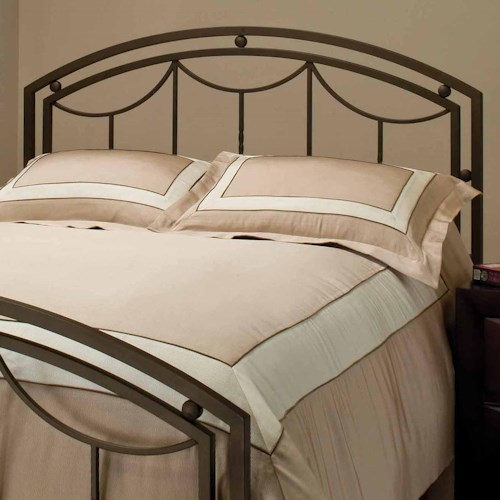 Morris Home Furnishings Metal Beds King Arlington Headboard