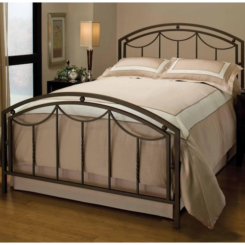 Morris Home Furnishings Metal Beds Queen Arlington Bed