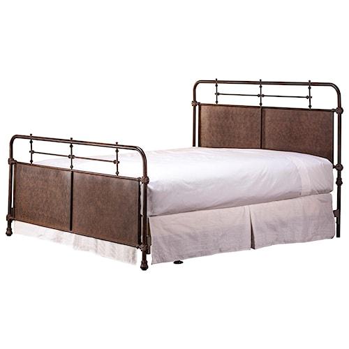 Hillsdale Metal Beds King Kensington Bed w/ Rails