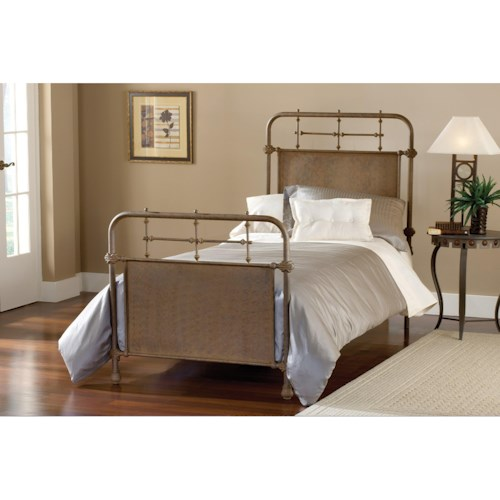 Hillsdale Metal Beds Twin Kensington Panel Bed