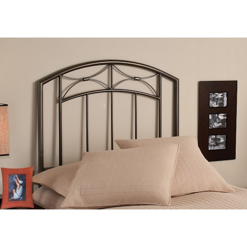 Morris Home Furnishings Metal Beds Morris Twin Headboard