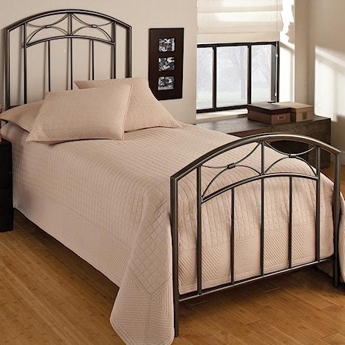 Morris Home Furnishings Metal Beds Twin Morris Bed
