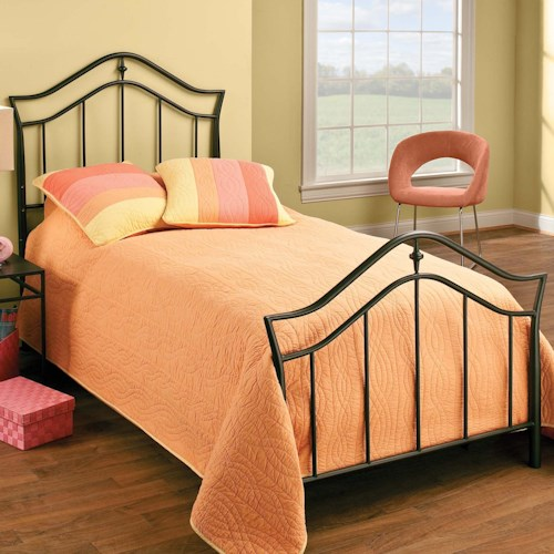 Hillsdale Metal Beds Twin Imperial Bed