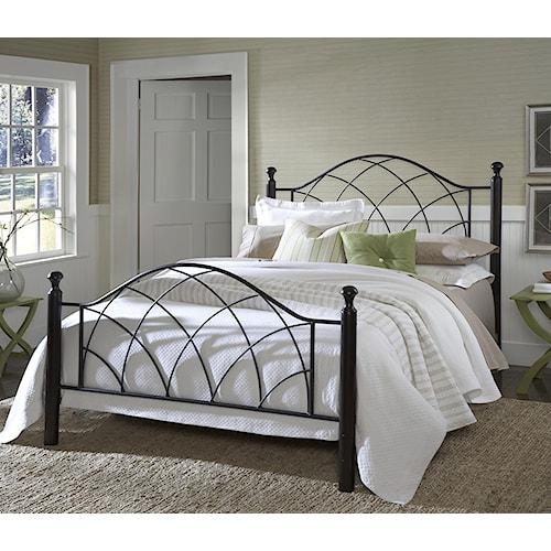 Morris Home Furnishings Metal Beds Vista King Bed Set
