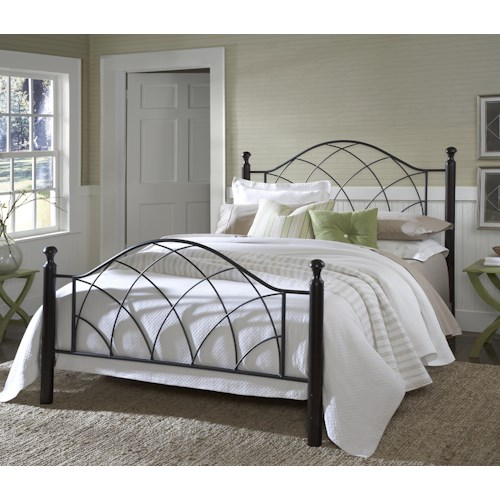 Hillsdale Metal Beds Vista Twin Bed Set