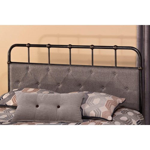 Morris Home Furnishings Metal Beds Utilitarian King Headboard