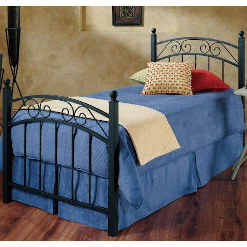 Hillsdale Metal Beds Twin Willow Metal Bed