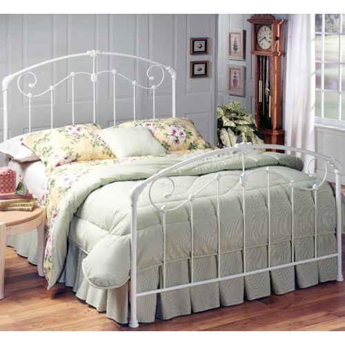 Hillsdale Metal Beds Mia King Bed